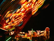 Medulin Luna Park agosto 2006 imagem de stock royalty free