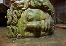Medusa column bases Stock Images