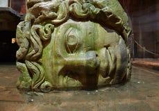 Medusa column bases Stock Images
