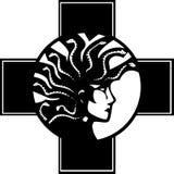 Medusa Cross Royalty Free Stock Photos