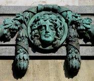 Medusa de Budapest imagens de stock