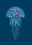 Medusa de la historieta Fotos de archivo