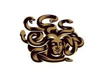 Medusa del gorgon Illustrazione di vettore illustrazione di stock