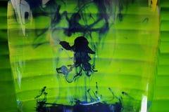 Medusa dell'inchiostro immagini stock libere da diritti