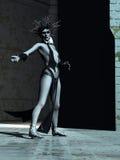 Medusa el Gorgon Foto de archivo libre de regalías