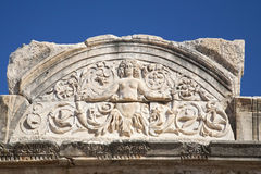 Medusa em Ephesus Fotografia de Stock