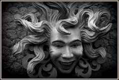 Medusa Face Royalty Free Stock Photo