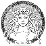 Medusa Gorgon Royalty Free Stock Image