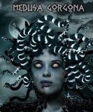 Medusa Gorgona Imagen de archivo libre de regalías