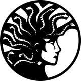 Medusa With Mohawk Royalty Free Stock Photos