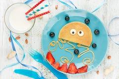 Medusa pancake Royalty Free Stock Photos
