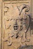 Medusa. Stone erelief of the mystic figure medusa stock photo