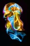 Medusas del humo Fotos de archivo libres de regalías