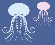 meduse illustrazione di stock