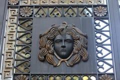 Meduza na bramie zdjęcie royalty free