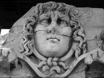 Meduza przy świątynią Apollo Didyma Obraz Stock