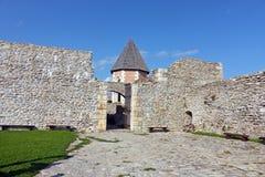 Medvedgrad, castle. Detail of old town Medvedgrad, Croatia Stock Image