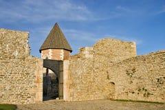 Medvedgrad Chapel. Chapel at castle / fortress medvedgrad on a slope near zagreb Stock Photo