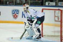 Medvescak Zagreb beats Dinamo Riga 2-1 Royalty Free Stock Photos