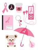 medvetenhetbröstcancer vektor illustrationer