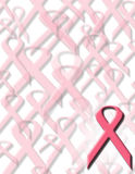 medvetenhetbröstcancer Arkivbilder