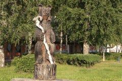 Medvezhyegorsk A república de Carélia Imagens de Stock Royalty Free