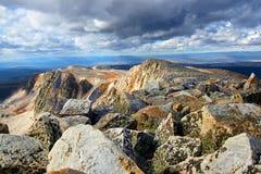 Medycyna łęku szczyt Wyoming zdjęcie royalty free