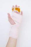 Medycyna bandaż zdjęcie stock
