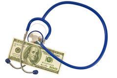 Medycyna 2 i pieniądze zdjęcia royalty free