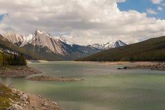 Medycyna jezioro, Alberta zdjęcia royalty free