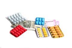 Medycyna koszty Zdjęcie Stock