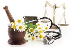 medycyna naturalna Obrazy Royalty Free