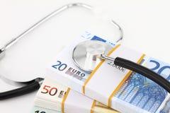 medycyna pieniądze obraz stock