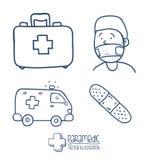 Medycyna projekt Obraz Stock