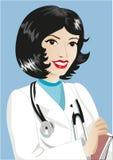 medycyna terapeuta royalty ilustracja