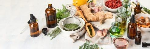 Medycyny alternatywny Pojęcie zdjęcie royalty free