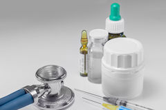 Medycyny dla traktowania choroba Obrazy Stock