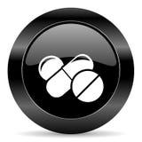 Medycyny ikona Zdjęcia Stock