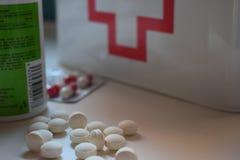 Medycyny są dobre dla zdrowego życia zdjęcia stock