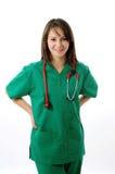 medyczna ładna kobieta obraz royalty free