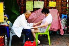 Medyczna Chi Kanga terapia Zdjęcia Royalty Free