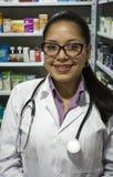 Medyczna farmaceuty kobieta Zdjęcia Royalty Free