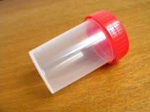 medyczna kontenera moczu Fotografia Royalty Free