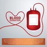 medyczna krwionośna tło darowizna Zdjęcia Royalty Free