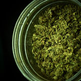 Medyczna marihuana Zdjęcia Royalty Free