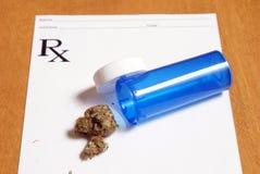 Medyczna marihuana Obraz Royalty Free