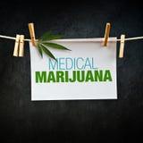 Medyczna marihuana Fotografia Stock