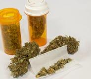 Medyczna marihuana 4 Obrazy Royalty Free