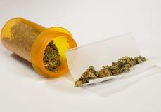 Medyczna marihuana 5 Obrazy Royalty Free