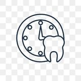 Medyczna nominacyjna wektorowa ikona odizolowywająca na przejrzystym backgrou royalty ilustracja